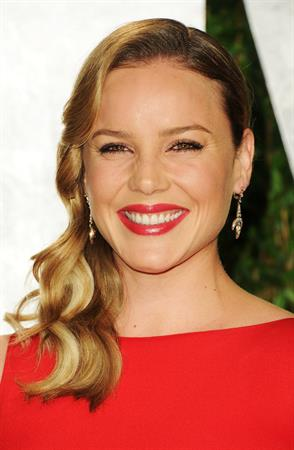Abbie Cornish 2012 Vanity Fair Oscar party in West Hollywood on February 26, 2012