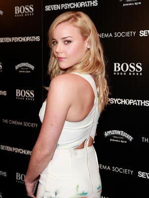 Abbie Cornish ''Seven Psychopaths'' Screening in NYC - October 10, 2012