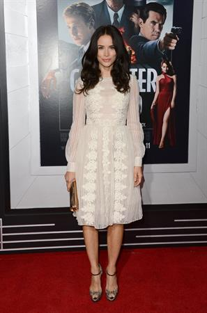 Abigail Spencer 'Gangster Squad' premiere in Hollywood 1/7/13