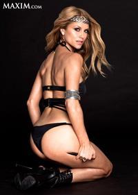 Ellen Hollman in lingerie - ass