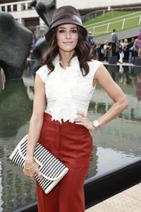 Abigail Spencer Malandrino Presentation at Mercedes Benz fashion week on September 12, 2010