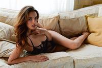 Amber Pyper in lingerie
