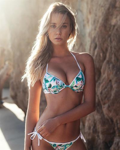 Josey Auguste in a bikini