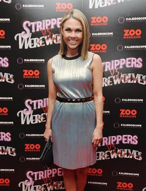 Adele Silva Strippers vs Werewolves premiere on April 24, 2012
