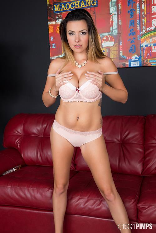 Danica Dillan Bares it all for Cherry Pimps