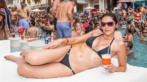 Adrianne Curry - Celebrates her 30th Birthday at Encore Beach Club in Las Vegas - August 4 2012