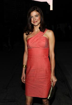 Adrianne Palicki Twentieth Century Fox 75th anniversary party held at the Fox studio lot on May 27, 2010
