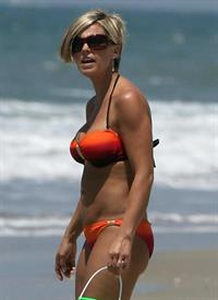 Kate Gosselin in a bikini