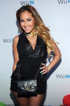 Adrienne Bailon Nintendo hosts Wii U Experience in New York City on June 27, 2012
