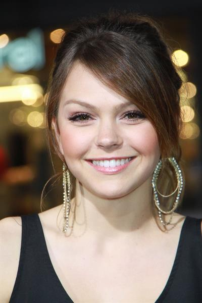 Aimee Teegarden Project X premeire in Los Angeles on February 29, 2012