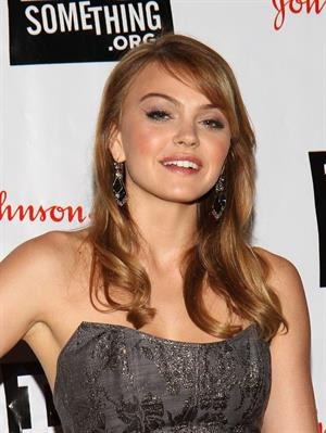 Aimee Teegarden Do Something Awards kick off event at B.B. King blues club grill on May 23, 2011