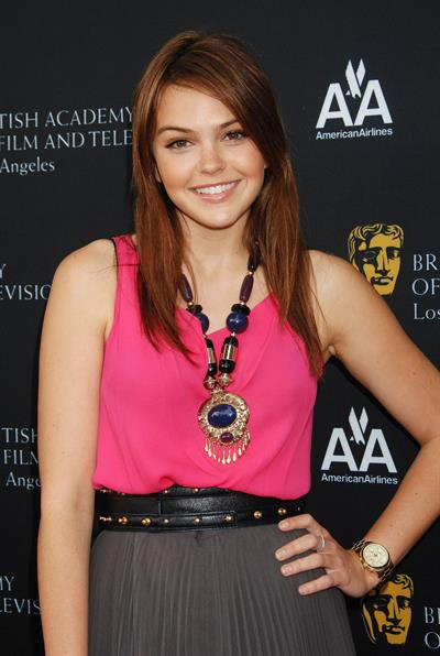 Aimee Teegarden 9th annual Bafta Los Angeles tv tea party on September 17, 2011