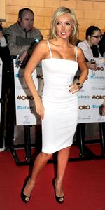 Aisleyne Horgan Wallace Mobo Awards on October 20, 2010