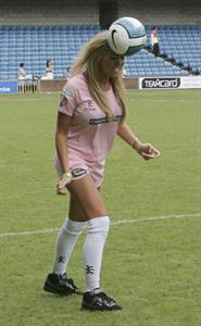 Aisleyne Wallace Celebrity Soccer Six Tournament, London (May 2008)