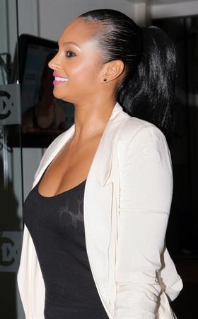 Alesha Dixon - London candids - 12th Aug 2010