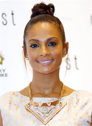 Alesha Dixon - Coast Oxford street - Flagship Store launch - London on June 28, 2012