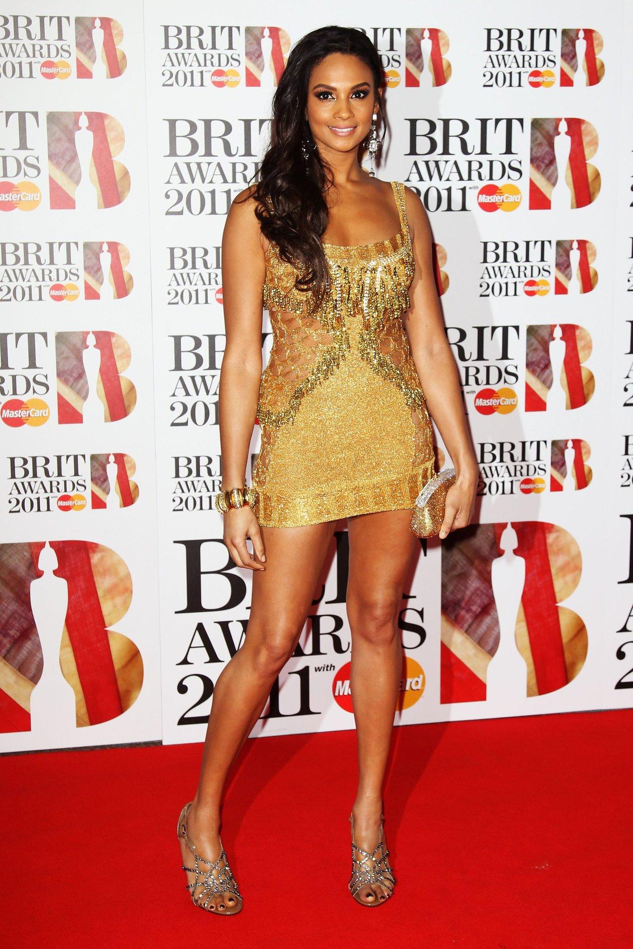 Alesha Dixon - Brit Awards - London - Feb 15, 2011