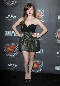 Alessandra Torresani attends the Guitar Hero Warriors of Rock launch in Hollywood on September 27, 2010
