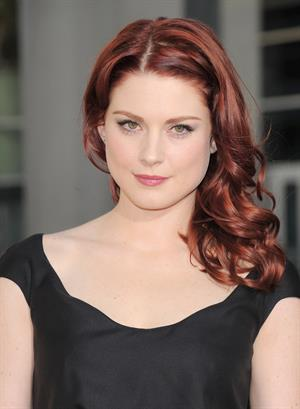 Alexandra Breckenridge attends the 4th season premiere for HBO's True Blood on June 21, 2011