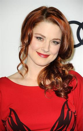Alexandra Breckenridge Golden Globe awards party hosted by Audi and Martin Katz on January, 8, 2012