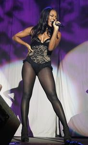 Alexandra Burke Jingle Bell Ball in Manchester on December 1, 2010