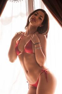 Carol Seleme Daniel in a bikini