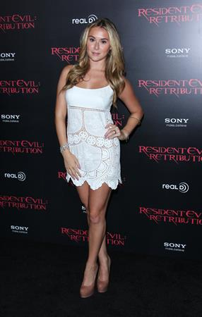 Alexa Vega - At Regal Cinemas L.A. Live September 12, 2012