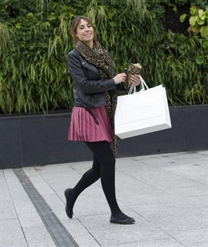 Alex Jones at Westfield shopping centre Nov 4, 2011