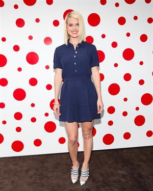 Alice Eve Louis Vuitton hosts dinner in honor of Yayoi Kusama in New York City on July 10, 2012