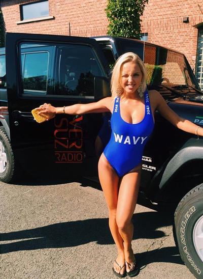 Luna Stevens in a bikini