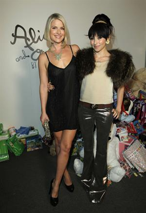 Ali Larter Alice Alivia Holiday Party for Bbaby Buggy on December 12, 2011