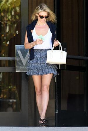 Ali Larter leaving her hotel on June 27, 2012