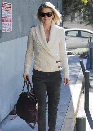 Ali Larter out and about in Hollywood on December 28, 2011