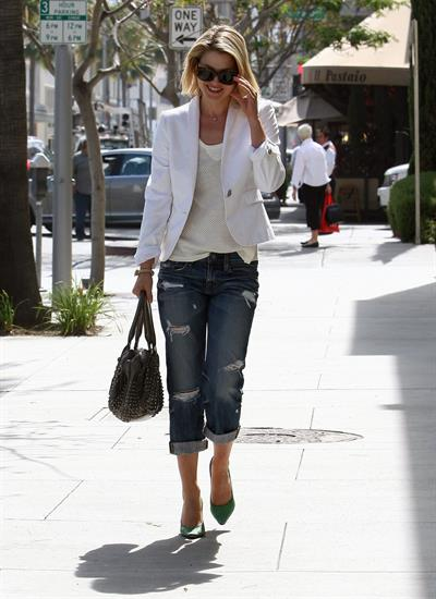Ali Larter in Los Angeles on April 19, 2012