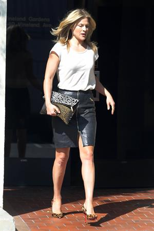 Ali Larter in Los Angeles 10/8/13