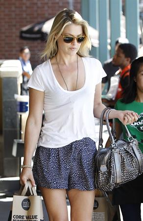 Ali Larter - At Whole Foods in West Hollywood - September 14, 2012
