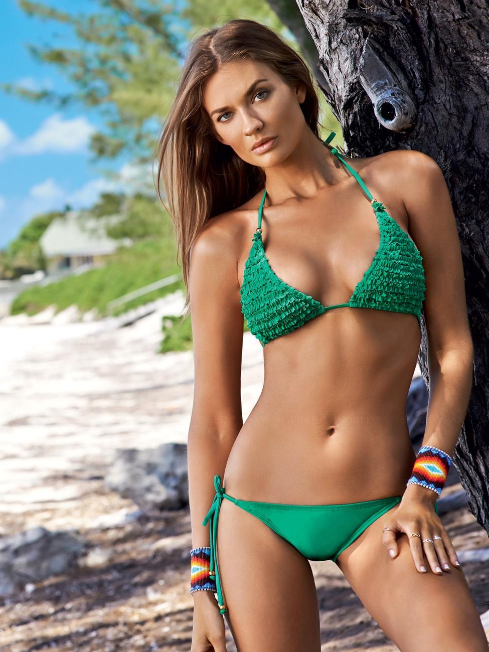 Amber Arbucci in a bikini