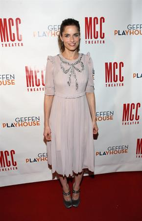 Amanda Peet at The Break of Noon opening night on November 22, 2010