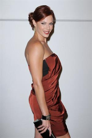 Amanda Righetti Art of Elysiums second annual Genesis event on August 28, 2010