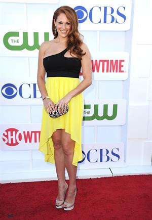Amanda Righetti arrives at the 2012 TCA Summer Tour - CBS, Showtime And The CW Party at 9900 Wilshire Blvd on July 29, 2012 in Beverly Hills, California