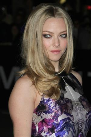 Amanda Seyfried In Time premiere in Los Angeles on October 20, 2011