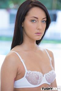 Sabrina Banks in lingerie