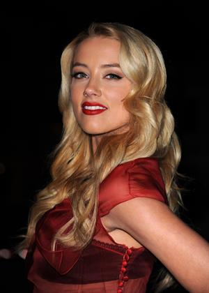 Amber Heard the Art of Elysiums 3rd annual black tie charity gala heaven on January 16, 2010