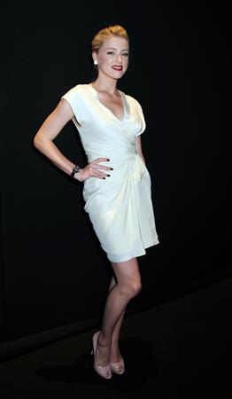 Amber Heard launch of Dior VIII in New York 08.06.11