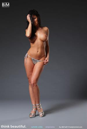 Rachelle Wilde Stripping for Body in Mind