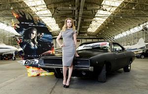 Amber Heard Beautiful in her Top Gear Drive Angry shoot Top Gear and Drive Angry promo shoot. February 16, 2011