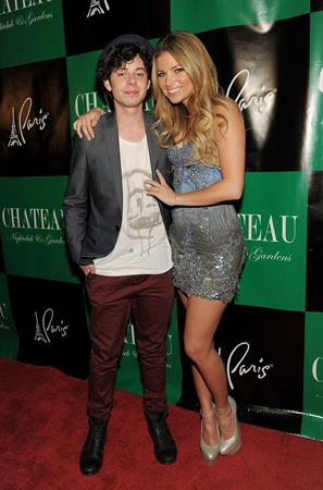 Amber Lancaster Chateau Nightclub Gardens at the Paris Las Vegas on April 30, 2011