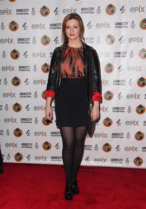 Amber Tamblyn attends Amnesty International's Secret Policeman's Ball in New York 04.03.12