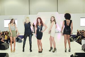 Amy Childs at Britain and Ireland's Next Top Model Live on October 28, 2011