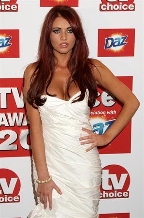Amy Childs TV choice awards 2011 on September 13, 2011